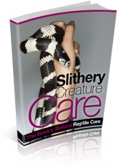 Slithery Creature Care eBook with private label rights