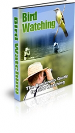 Bird Watching eBook with private label rights