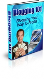 Blogging 101 eBook with Private Label Rights