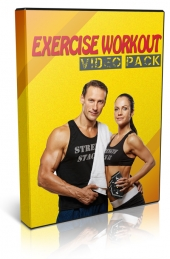 Exercise Workout Video Pack Video with Personal Use Rights