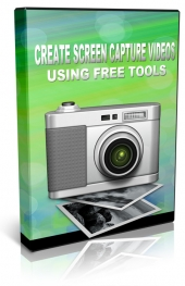Create Screen Capture Videos Using Free Tools Video with Private Label Rights