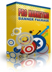 Pro Marketing Banner Pack Graphic with private label rights
