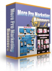 More Pro Marketing Banners Graphic with private label rights