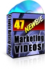 47 Newbie Marketing Videos Video with Master Resale Rights