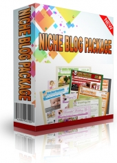 Niche Blog Package for August 2013 Template with Personal Use Rights