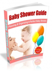 Baby Shower Guide eBook with Master Resale Rights