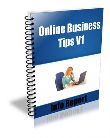 Online Business Tips V1-V4 Package