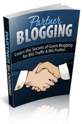 Partner Blogging eBook with Personal Use Rights
