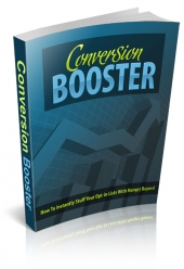Conversion Booster eBook with Personal Use Rights