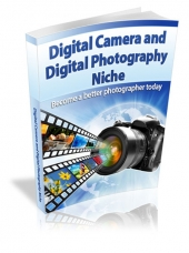 Digital Camera and Photography Tips eBook with private label rights