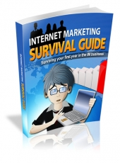 Internet Marketing Survival Guide eBook with private label rights
