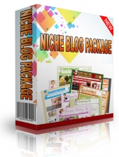 Personal Use Niche Blog Package Template with Personal Use Rights