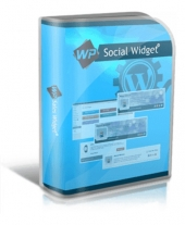 WP Social Widget Plugin Software with Private Label Rights