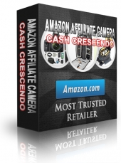 Amazon Affiliate Camera Cash Crescendo eBook with Resale Rights