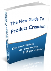 The Complete Guide To Product Creation eBook with Personal Use Rights