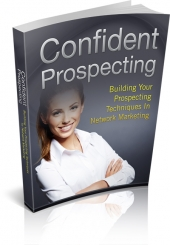 Confident Prospecting eBook with Personal Use Rights