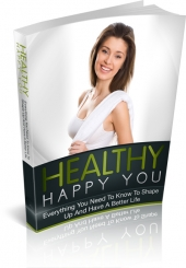 Healthy Happy You eBook with private label rights