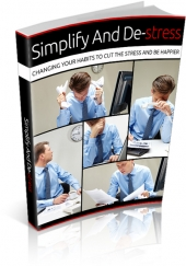 Simplify And Destress eBook with