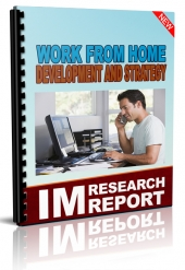 Working from Home Development And Strategy eBook with Master Resell Rights