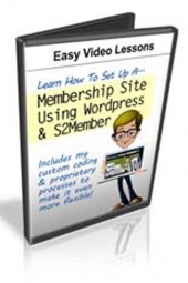 Set Up A Membership Site Using WordPress And S2member Video with Private Label Rights