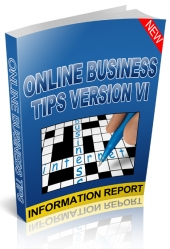 Online Business Tips Version VI eBook with Giveaway Rights