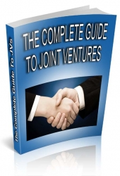 The Complete Guide To JVs eBook with Personal Use Rights