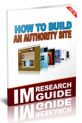 How to Build an Authority Site eBook with Personal Use Rights