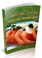 Simple & Delicious eBook with private label rights