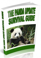 The Panda Update Survival Guide eBook with private label rights