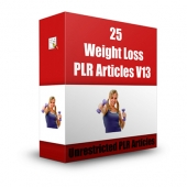 Weight Loss Version 13 for September 2013 Gold Article with Private Label Rights
