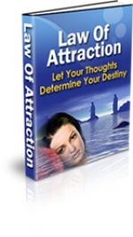 Law Of Attraction eBook with Private Label Rights