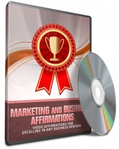 Marketing and Business Affirmations Audio with Master Resell Rights