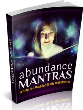 Abundance Mantras eBook with private label rights