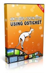 How To Set Up A Ticketing System Using osTicket Video with Private Label Rights