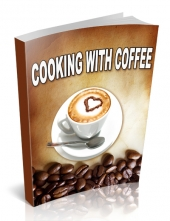 Cooking with Coffee eBook with private label rights