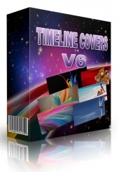 15 High Quality Facebook Timeline Cover Version 6 2013 eBook with Master Resale Rights