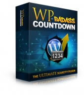 WP BadAss Countdown Plugin Software with Resale Rights
