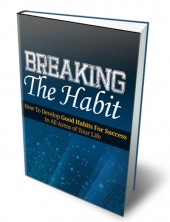 Breaking the Habit 2013 eBook with private label rights