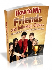 How To Win Friends And Influence Others eBook with private label rights