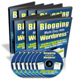 Blogging Made Easy With Wordpress Video with Master Resale Rights