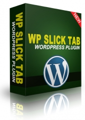 WP Slick Tab Plugin Software with Personal Use Rights