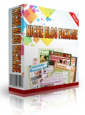 Niche Blog Package With Flipping Rights Template with Personal Use Rights