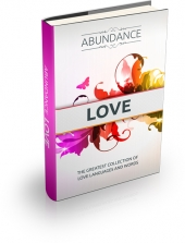 Abundance Love eBook with private label rights