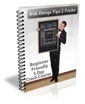 Web Design Tips and Tricks eBook with private label rights