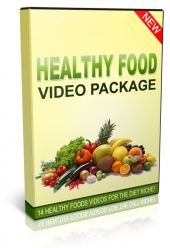 Healthy Food Videos Package Video with Private Label Rights