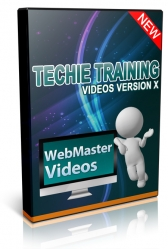 Techie Training Videos V10 Video with Master Resell Rights