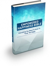 Empowered Happiness Bible eBook with private label rights