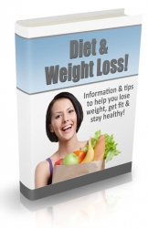 Diet & Weight Loss Newsletter eBook with Private Label Rights