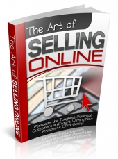 The Art Of Selling Online eBook with Private Label Rights