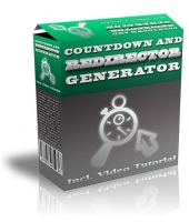 Countdown and Redirector Generator Software with Master Resell Rights